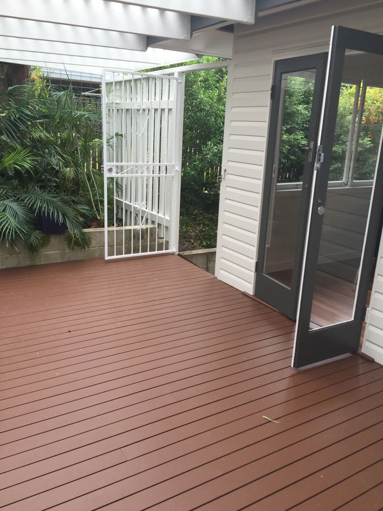 Deck painting, New Farm