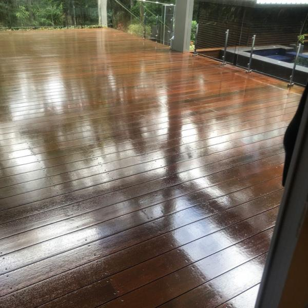 Deck painting, Ashgrove